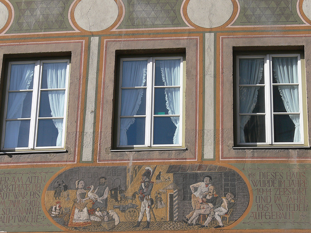 """München - Fassade """"Alte Hauptwache"""""""
