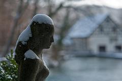 Die schöne Lau mit Schneekappe