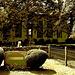 Cimetière de Hilltop's cemetery / Mendham, New-Jersey (NJ). USA - 21 juillet 2010 - Sepia postérisé