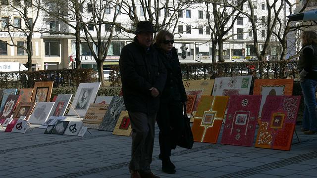 Bilderverkauf in München