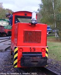CD Muzeum Locomotive #49, Luzna u Rakovnika, Bohemia (CZ), 2010