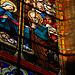 Un vitrail de l'église Notre-Dame