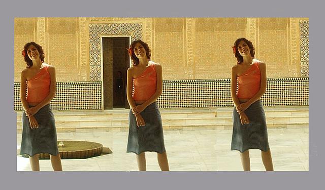 En la Alhambra por tres veces...