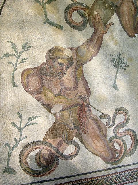 Kampf mit der Schlange