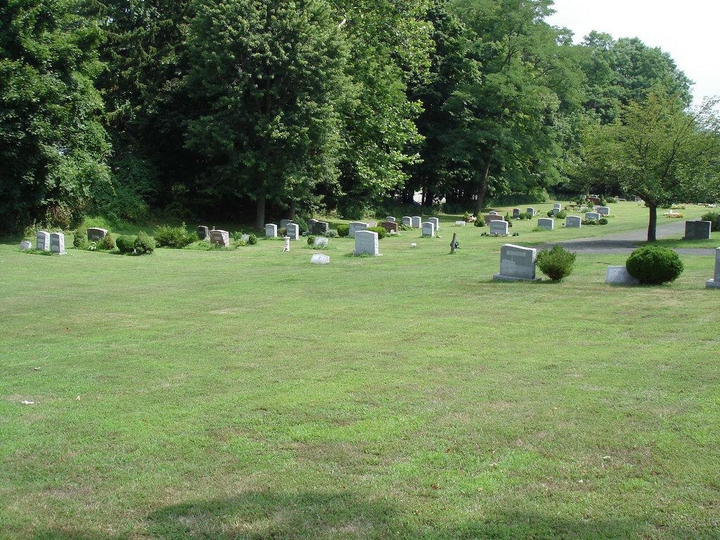 Cimetière de Hilltop's cemetery / Mendham, New-Jersey (NJ). USA - 21 juillet 2010.