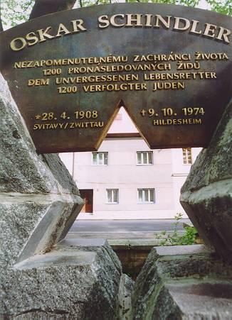 Monumento omaĝe al Oskar Schindler