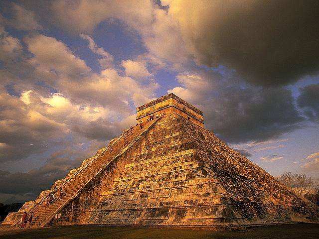 piramido Chichen Itza en Meksiko