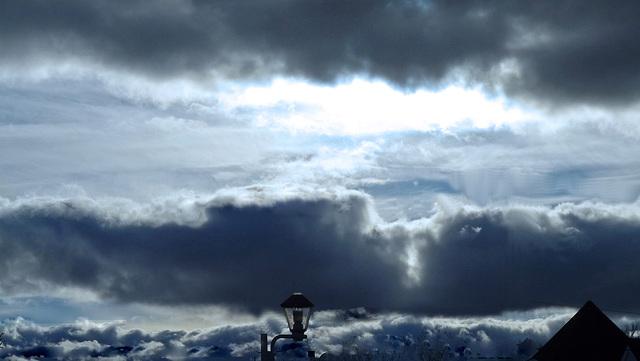 Des nuages suréalistes !