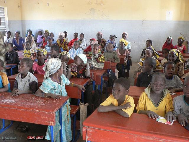 Schule von World Vision unterstützt