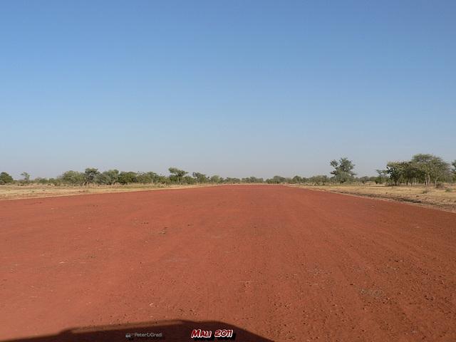 Landepiste von Bandiagara