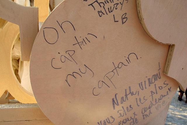 Temple Of Grace - Oh Captain, My Captain (0671)