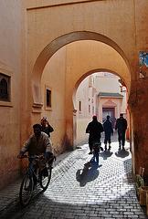 Marrakech, calle.