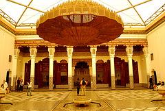Patio del palacio de Bahia. Marraquech