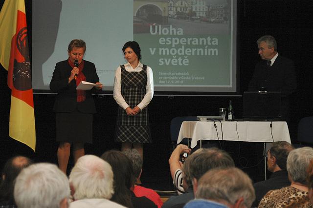 "seminario ""Rolo de Esperanto en la moderna mondo"""
