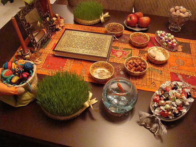 Norouz, persian new year.