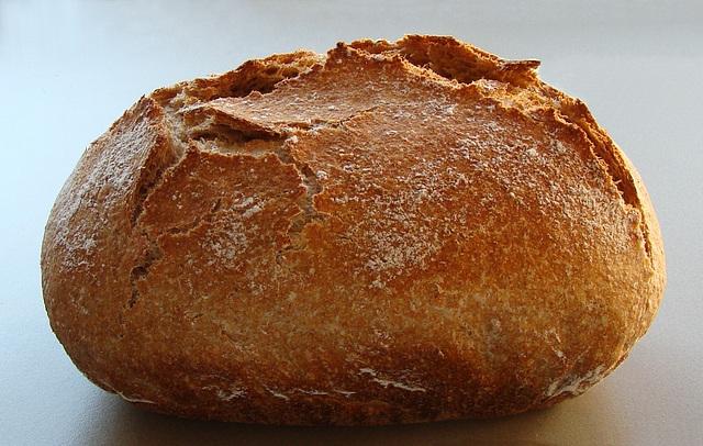 Easy four-grain pot boule