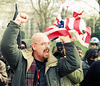 BurnFlag3a.DontBombIraq.WhiteHouse.WDC.21February1998