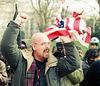 BurnFlag3a.DontBombIraq.WhiteHouse.WDC.21February1998
