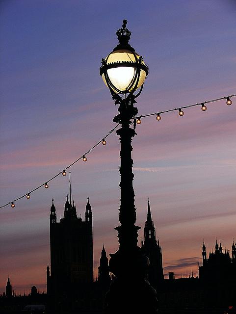 Westminster spires