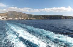 Auslaufen von Tenerife nach La Gomera. ©UdoSm