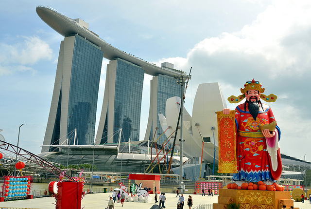Chinese New Year at Marina Bay Singapore