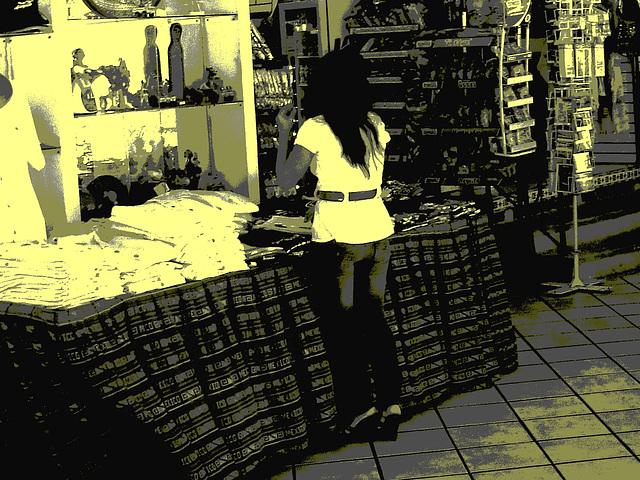 Acapulco, Mexique / 8 février 2011 - Vintage postérisé