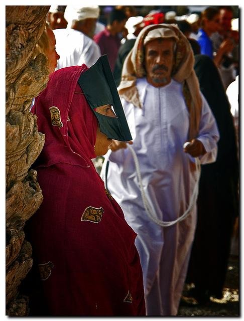 Burka, Beduine