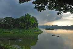 At the mouth of the Menam Loei river