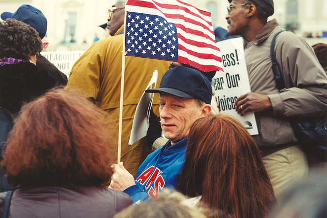 Clinton.AntiImpeachmentRally1.USC.WDC.17December1998