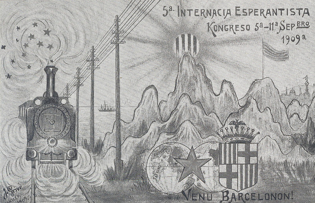 La V-a  UKo en  Barcelono 1909