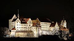 Schloss Colditz bei Nacht