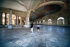 and this is the ballroom......