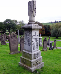 Wallace Hartley's grave (2 of 2).