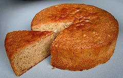 Apricot Jam Cake with Hazelnuts