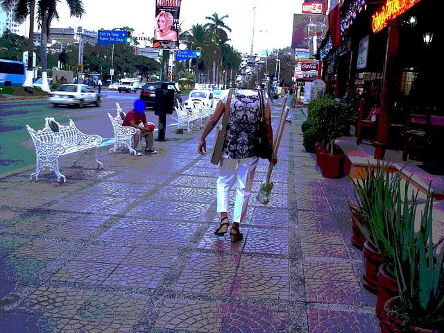 Acapulco, Mexique / 8 février 2011 - Postérisation sans tête / Headless creation