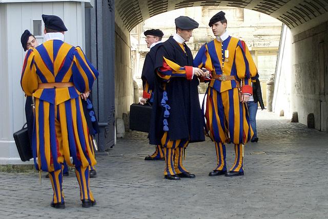 Rom, Schweizer Garde