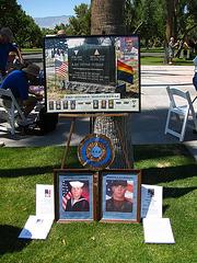At The Gay Veterans Memorial - Cathedral City (2247
