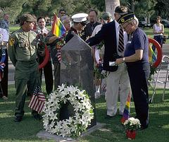 Gay Veterans Memorial (2003?)