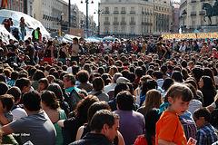 Concentracion 20 de mayo Puerta del sol (Madrid)