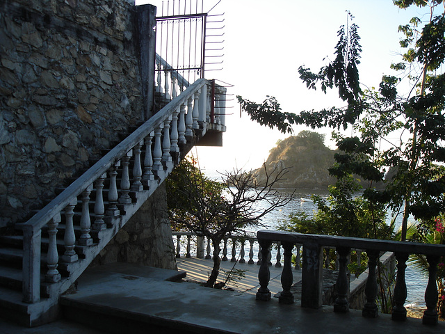 Stairway to the best view in town.