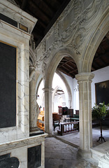 Sir Anthony Mildmay, Saint Leonard's Church, Apethorpe, Northamptonshire