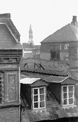 View from a attic in Copenhagen