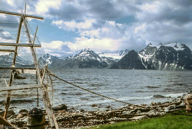 Norway 1970 - Lyngenfjord - 17.6.70
