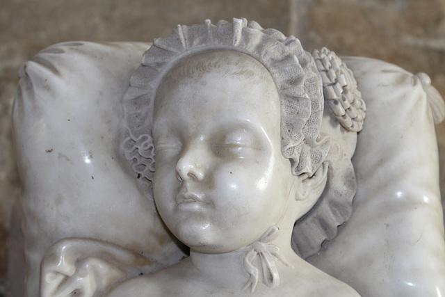Memorial to the Honorable, John Arthur Fane, St Leonard's Church, Apethorpe, Northamptonshire