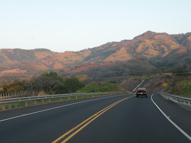 Carretera a Caldera (amanecer)