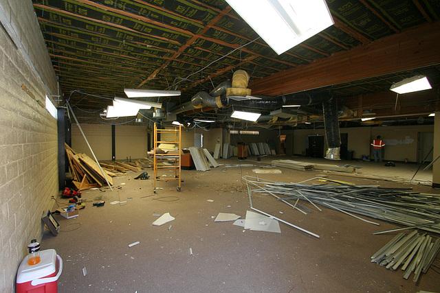 Carl May interior demolition (0284)