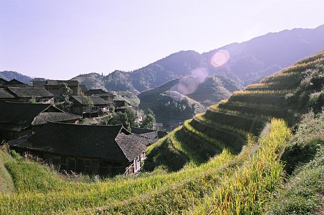 Huangluo terrace