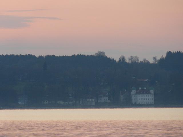 Schloss Berg am Morgen