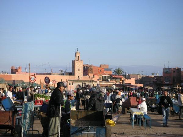 Plaza de la Koutoubia - Marrakech