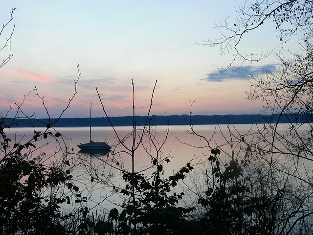 Morgengrauen am Starnberger See